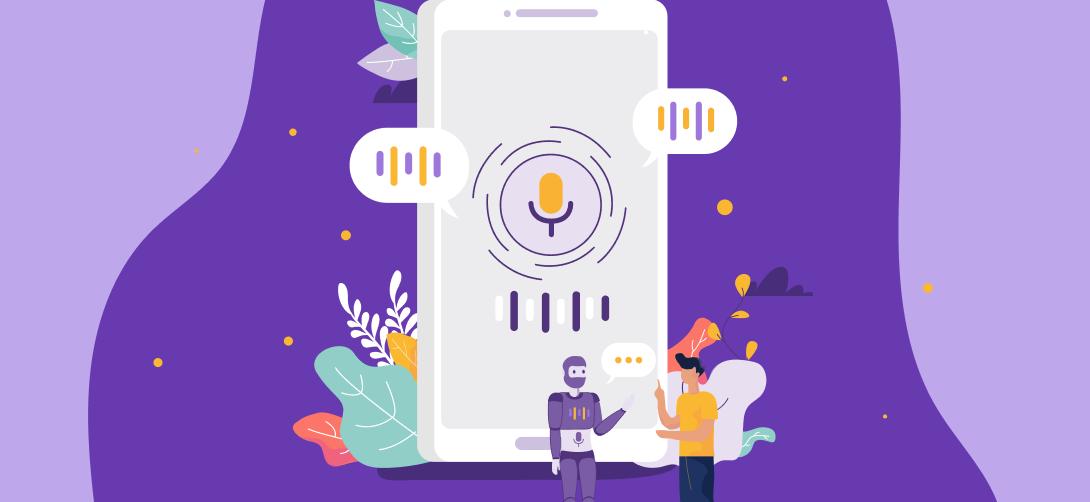 Era voice first vantagens dos dados de voz