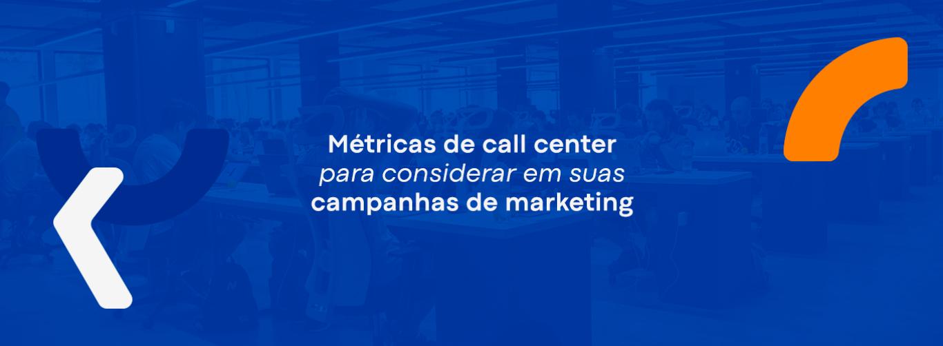 metricas de call center
