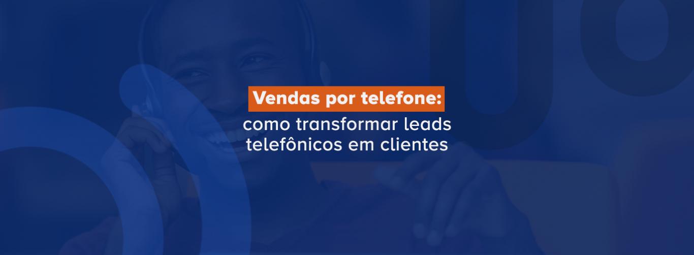 vendas por telefone